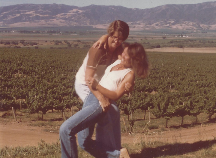 Vintage photo of Rich and Claudia Smith